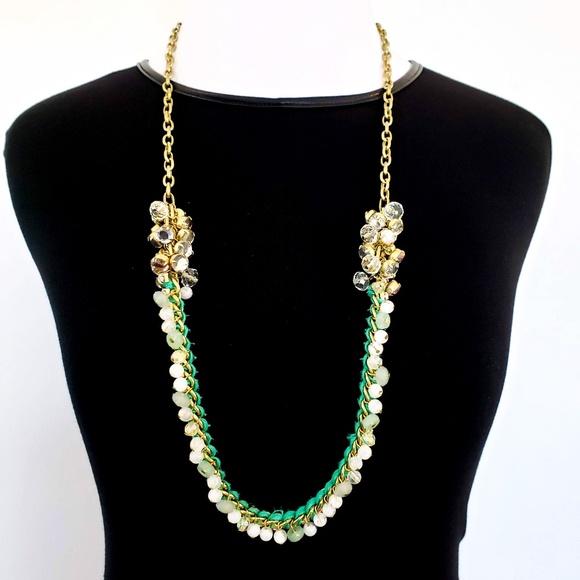 LOFT Jewelry - LOFT Sweater Necklace Gold Tone